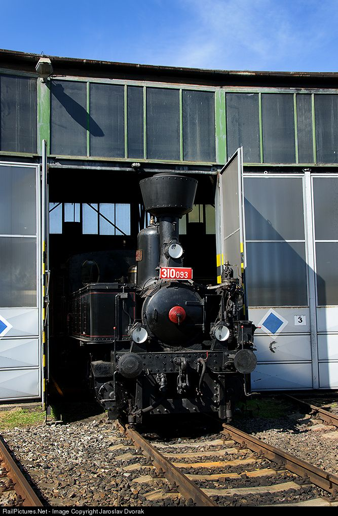 RailPictures.Net Photo: 310 093 Ceske Drahy 310 at Ceske Budejovice, Czech Republic by Jaroslav Dvorak