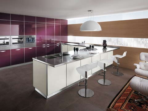 Crystal opens out new horizons for functionality and personalisation in kitchen design, ready to provide a classy backdrop for the individual lifestyle | #Kitchens