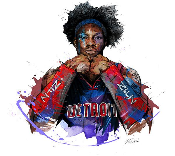 NBA - Ben Wallace on Behance