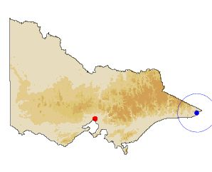 Geographic location of site weather statistics