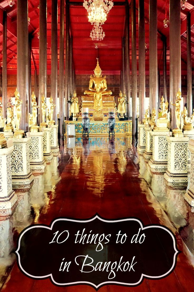 My top 10 list ofthings to do in Bangkok.These are the things you shouldnt miss on your travels to Bangkok!