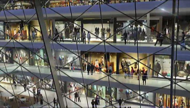 Tendrá un centro comercial en su interior