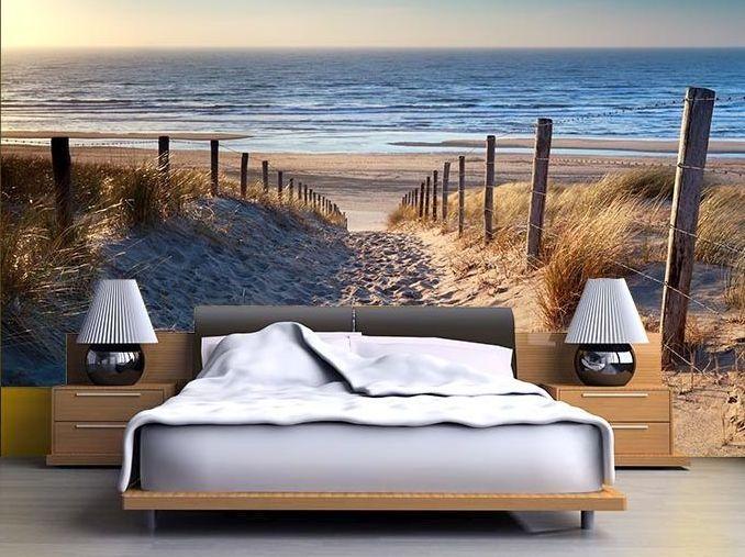 obraz na ścianie za łóżkiem w sypialni  http://ecoformat.eu/193/fotolia/index.php