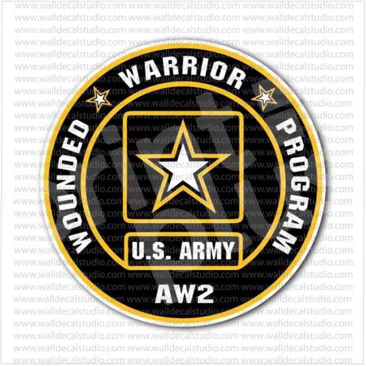 US Army AW2 Wounded Warrior Program Sticker