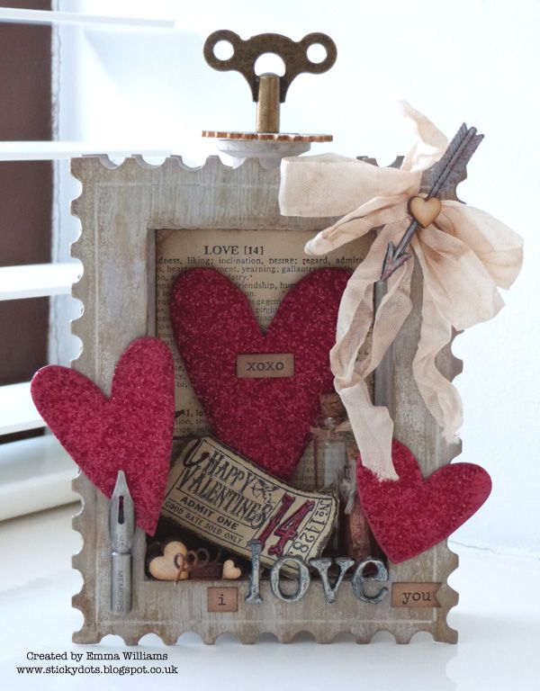 Emma Williams - Valentine shadowbox http://www.simonsaysstampblog.com/mondaychallenge/challenge-love-notes/