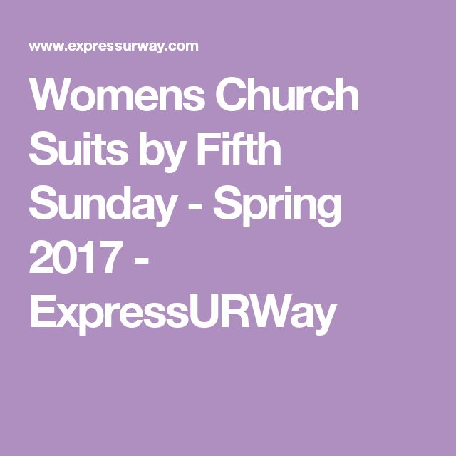 Womens Church Suits by Fifth Sunday - Spring 2017 - ExpressURWay