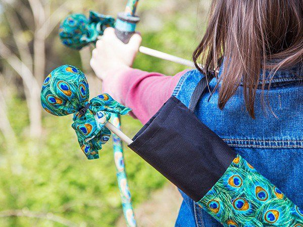 Two Bros Bows' kids archery set, discovered by The Grommet, has puffy-not-pointy