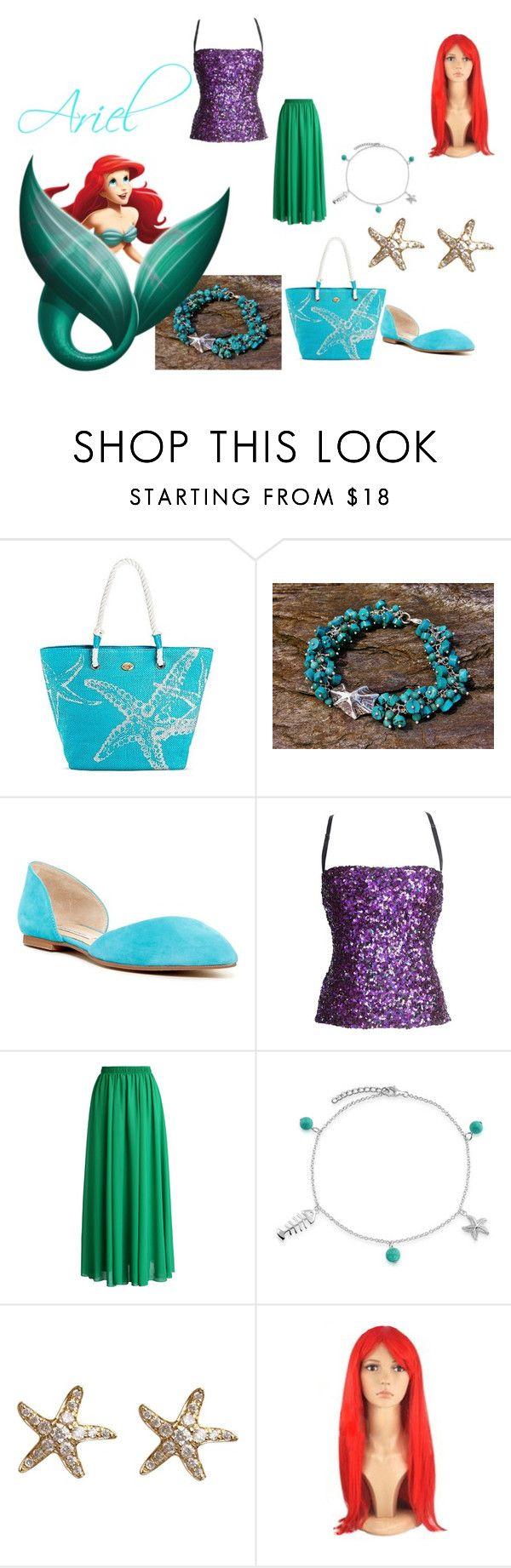 """Ariel"" by mandalinaqitrydewi on Polyvore featuring Dolce&Gabbana, Chicwish, Bling Jewelry and Annoushka"