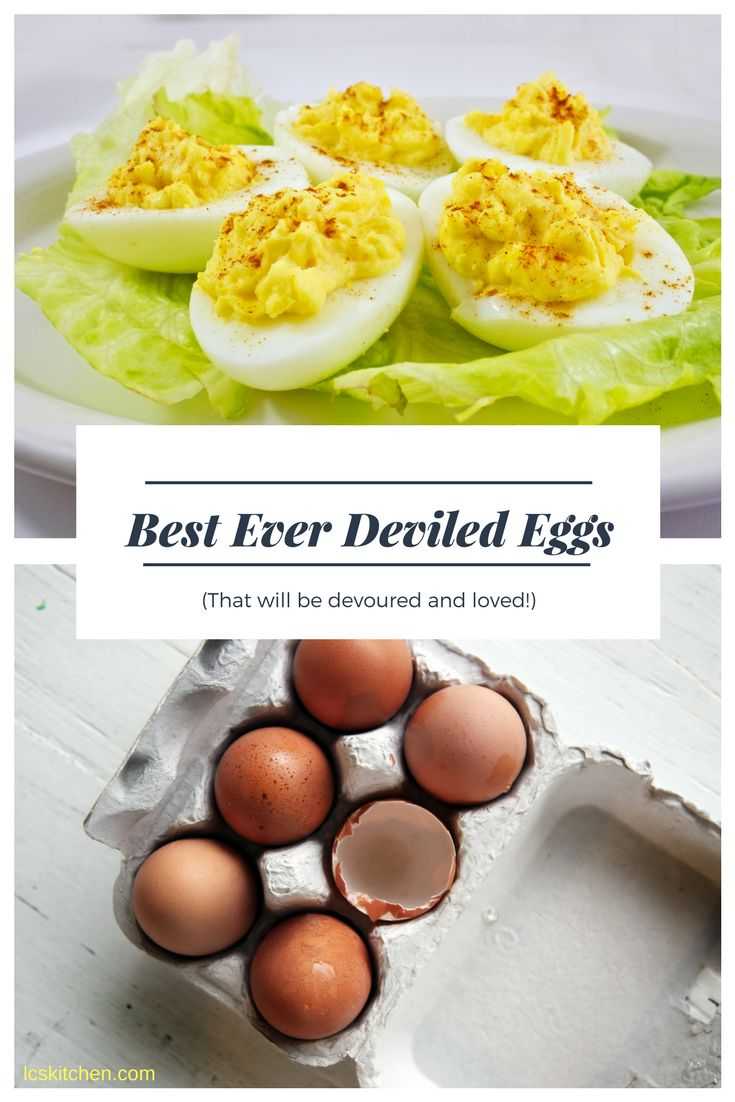 Best deviled eggs ever and a lot of advice on how to make your perfect deviled eggs at home! Go visit lcskitchen.com for more recipes #deviledeggs #devileggs #howto #recipe #recipes