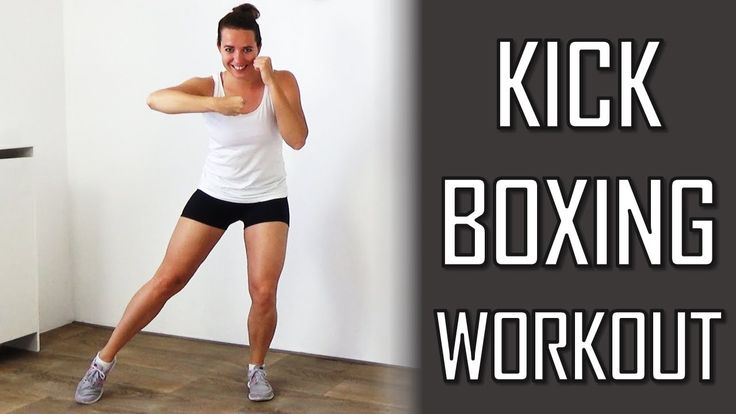 20 Minute Kickboxing Workout - Challenging Cardio Kickboxing Exercises a...