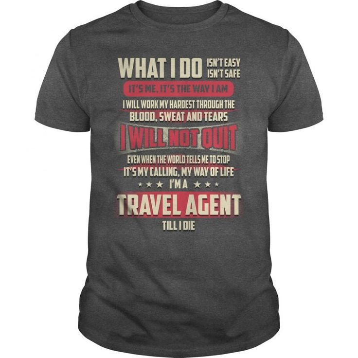 22 Best Travel Agent T-Shirt Collection Images On Pinterest