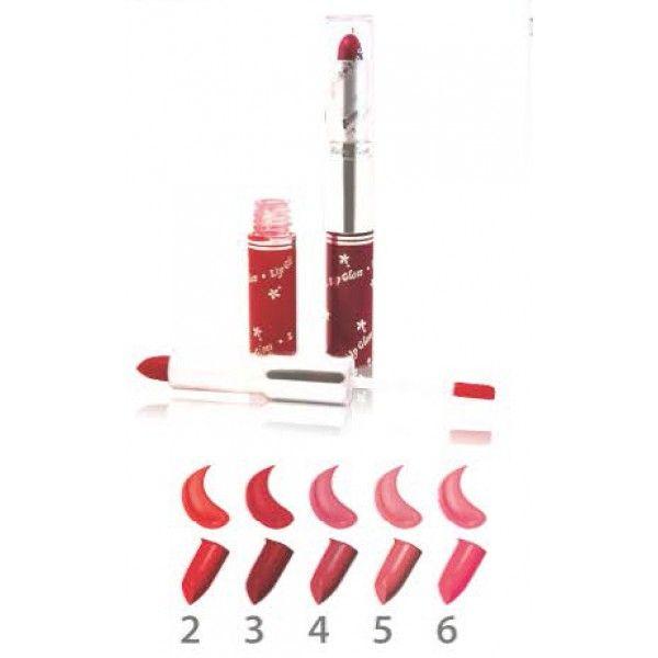 Cosmetice si Accesorii Online | Cosmetice ieftine | RUJ ŞI LUCIU DE BUZE HB-8681