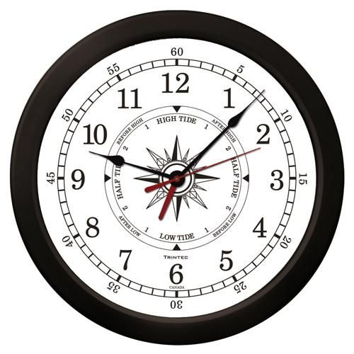 "14"" Atlantic Time & Tide Clock"