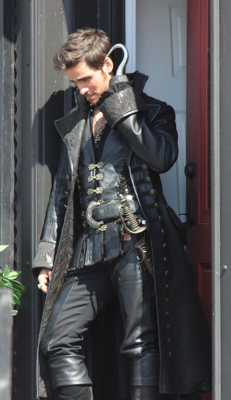 Hook from Once Upon a Time.. he's too gorgeous