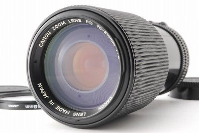 【VERY GOOD】Canon ZOOM LENS New FD 70-210mm f/4 W/ Kenko Filter from Japan 501
