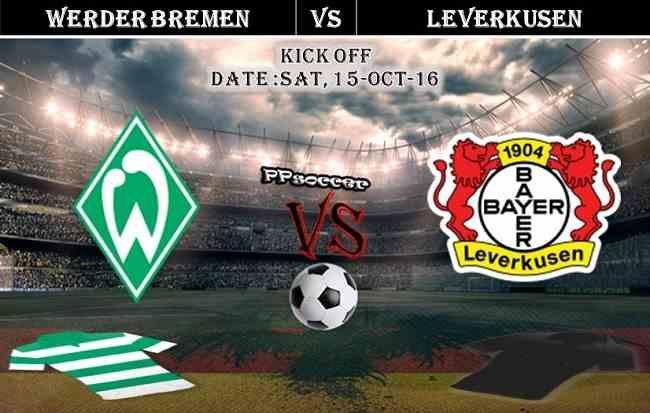 Werder Bremen vs Bayer Leverkusen 15.10.2016 Predictions - PPsoccer