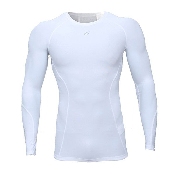 Mens Fitness Compression Tight Quick-drying Sport T-shirts Gym Training Long Sleeve T-shirt