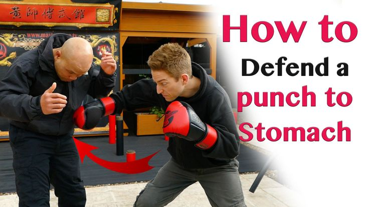 how to defend a punch to stomach - Wing Chun