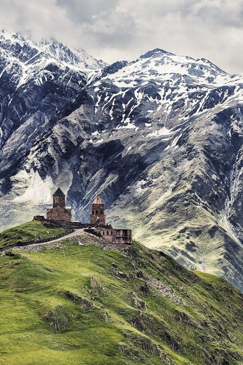 Trinity Church, Kazbegi, Georgia | by Aurelien-Villette