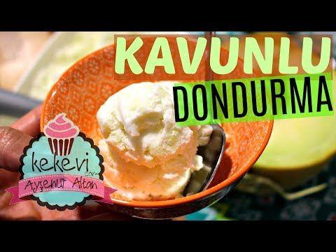 Kavunlu Dondurma Tarifi (4 Malzeme İle) / Ayşenur Altan Yemek Tarifleri - YouTube