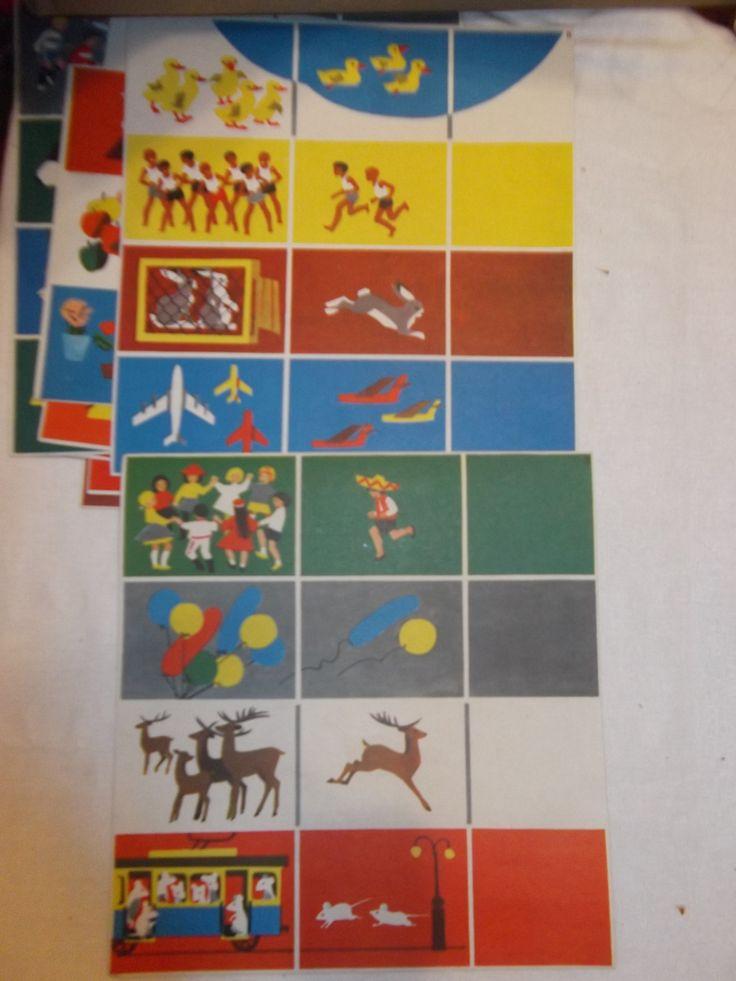 Мы считаем, 1983. Настольные игры СССР - http://samoe-vazhnoe.blogspot.ru/ #игры_предметы #игры_цифры