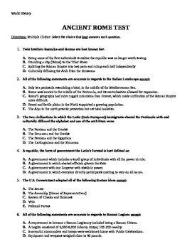 Ancient civilization essay questions