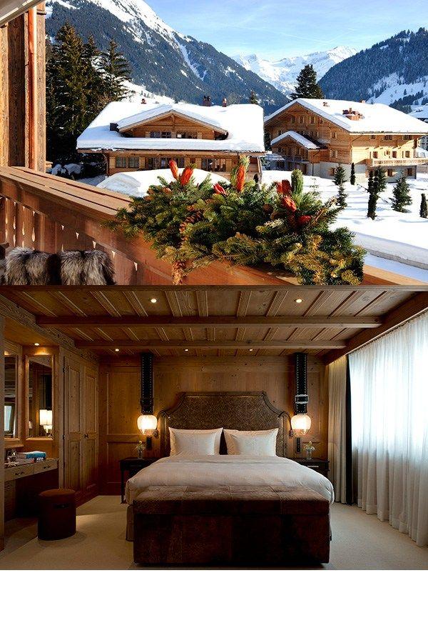 Top 10 luxury ski honeymoons - The Alpina, Gstaad, Switzerland