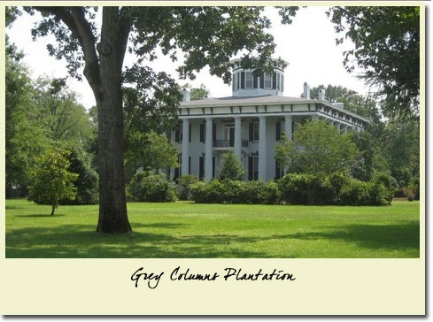 9 best images about grey columns varner house on for Plantation columns
