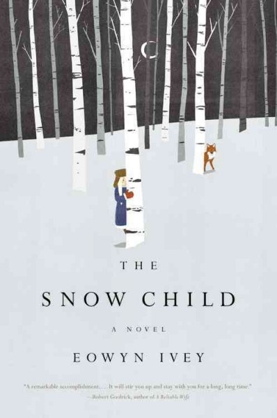 The Snow Child / Eowyn Ivey ~ Alaska, 1920: a brutal place to homestead, and especially tough for recent arrivals Jack and Mabel. Childless, they are drifting apart--he breaking under the weight of the work of the farm; she crumbling from loneliness and despair. In a moment of levity during the season's first snowfall, they build a child out of snow. The next morning the snow child is gone--but they glimpse a young, blonde-haired girl running through the trees. [UDP]