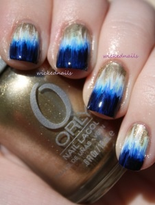 Dip Dye Nails-- does not have a tutorial but you can look up youtube videos