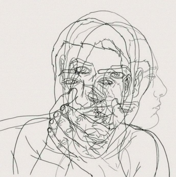 Line Art Layer : Pin by sofia tabet aoul on portraits pinterest