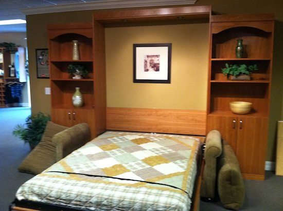 small space furniture 19 murphy beds 05 small space furniture with murphy beds u0026 desks - Murphy Bed With Desk