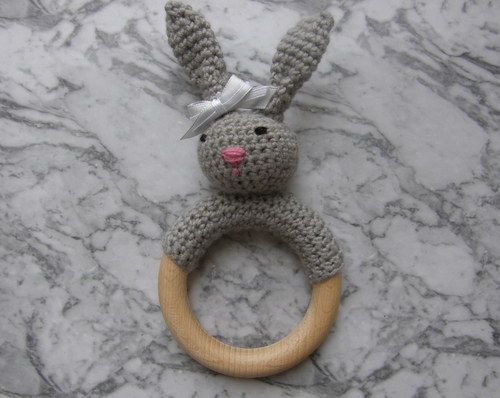 Cutest Bunny Rattle ever!! :)