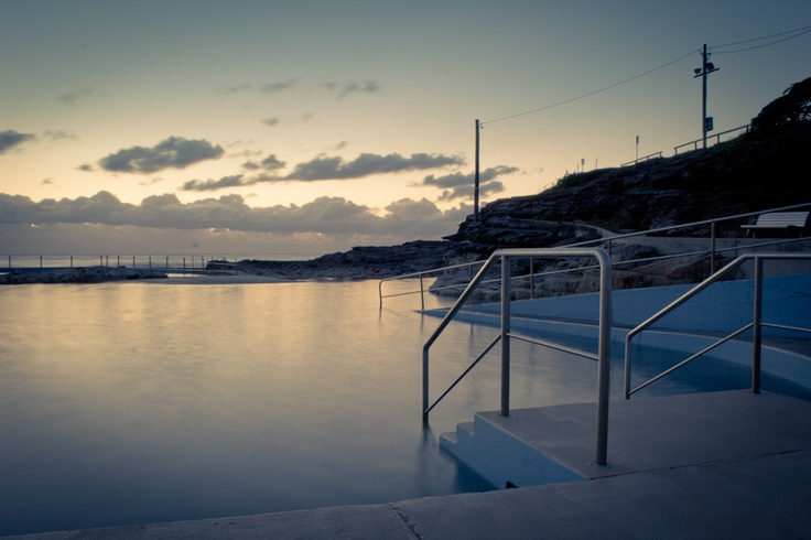 The calm before the rest of the day, Curl Curl Pool NSW Australia