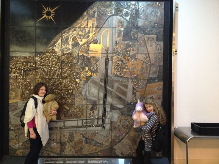 We found another Robert Stewart Mural at Prestwick Airport