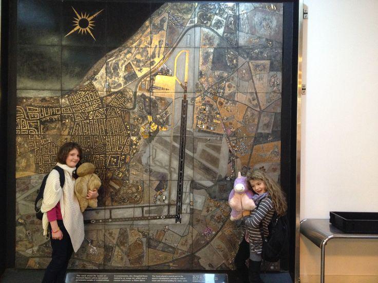 We found another Robert Stewart Mural at Prestwick Airport