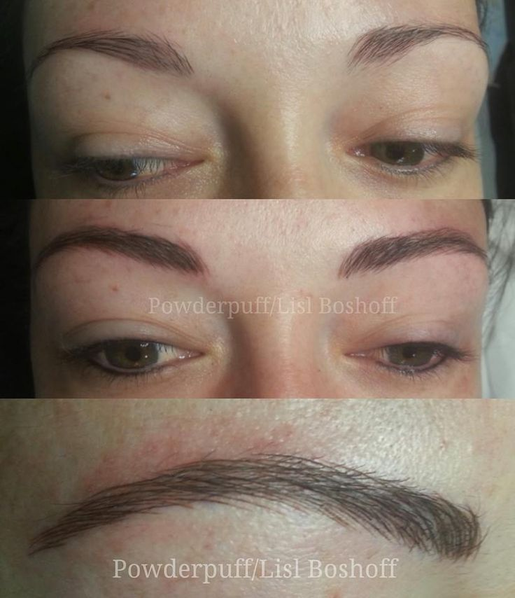 Ultra natural microblade eyebrow tattoo by lislboshoff for Eyebrow tattoo microblading