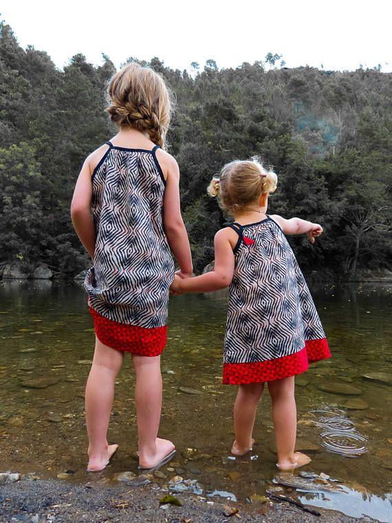 Robe TITLI TIGER /// BibOoShKa Robes Enfant/// robe été à