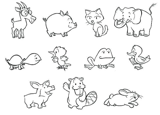 Risultati Immagini Per Disegni Per Bambini Da Colorare Con Animali