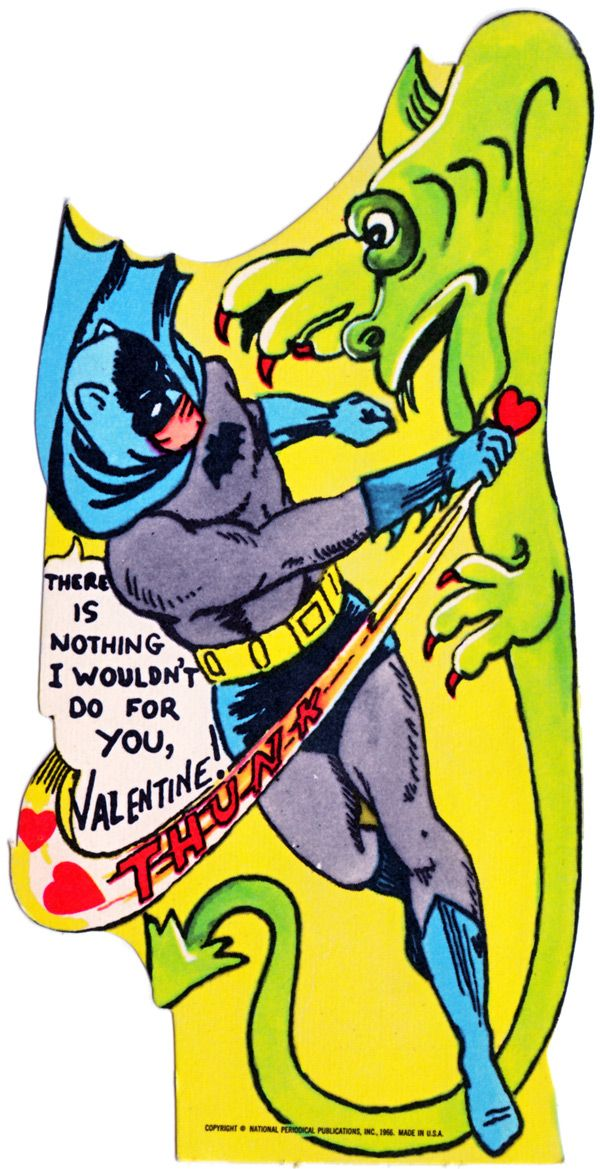 These Vintage U0027Batmanu0027 Valentines Will Bring You Back To You Childhood