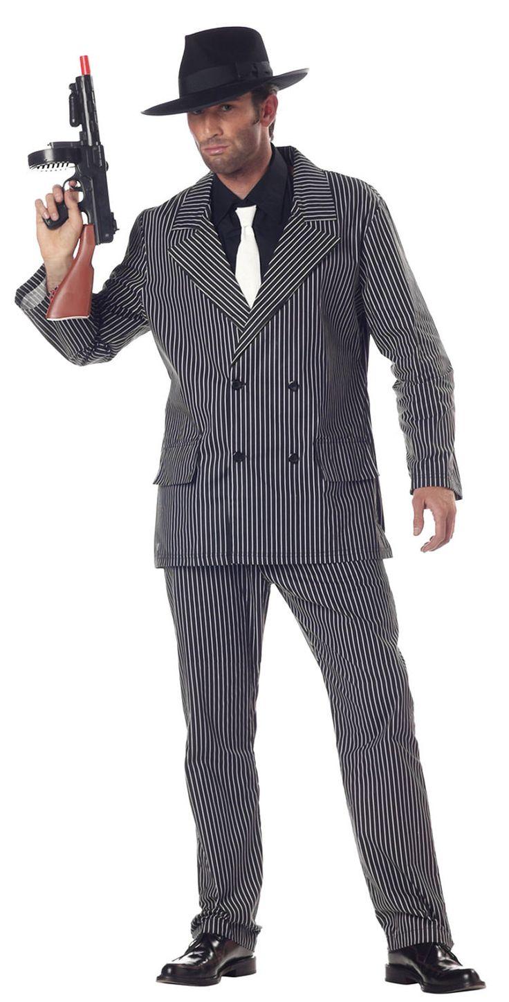 1920s Gangster Men's Costume
