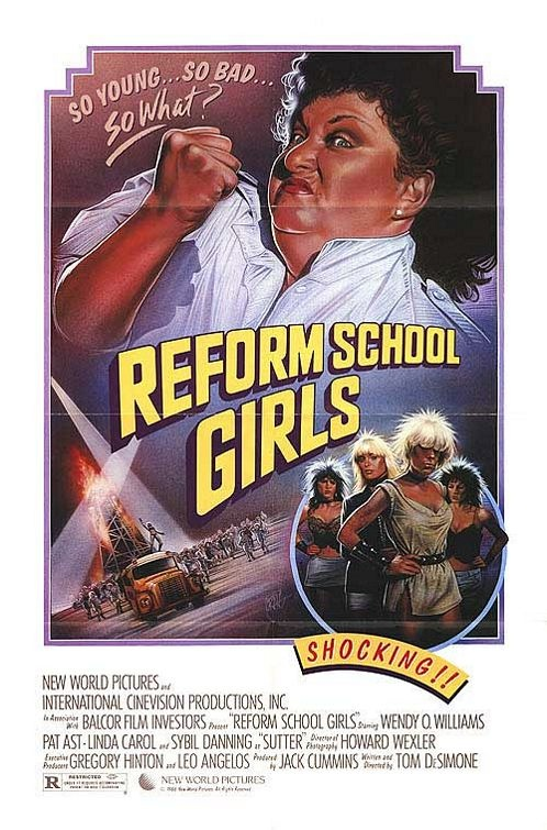Reform School Girls (1986) starring Wendy O. Williams. What a glorious exploitation film.