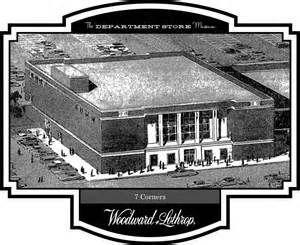 Woodward & Lothrop Department Store, Seven Corners, Falls Church Virginia.
