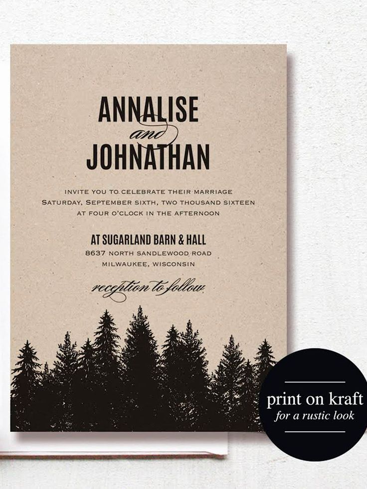 16 Printable Wedding Invitation Templates You Can