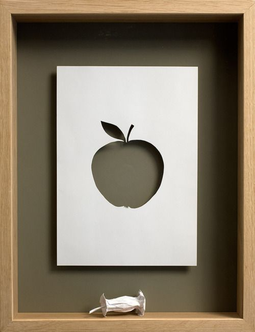 Love paper art and shadow boxes. Combined is magic.
