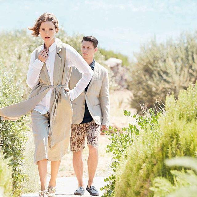 Linen Summer feelings.  #120percento #120lino #summer #linen #holiday #panorama #wild #nature #fashion #womanswear #shopping #menswear #outfit #look #style #fresh #beige #safari #collection #greece #feelings