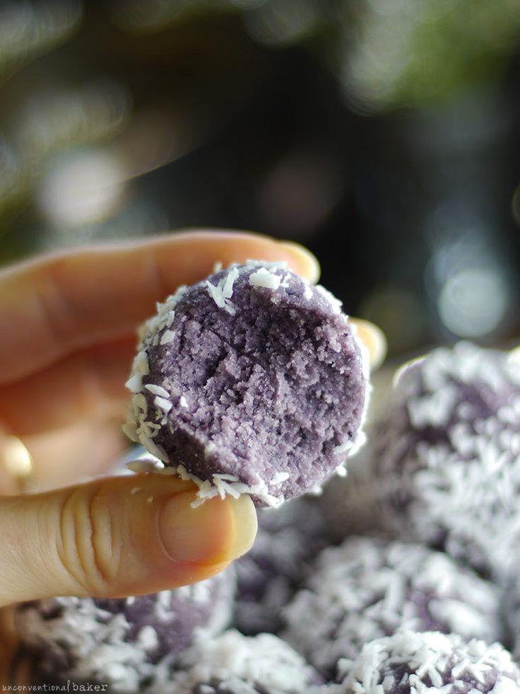 Blueberry Coconut Bliss Balls