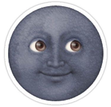 Moon Emoji Stickers
