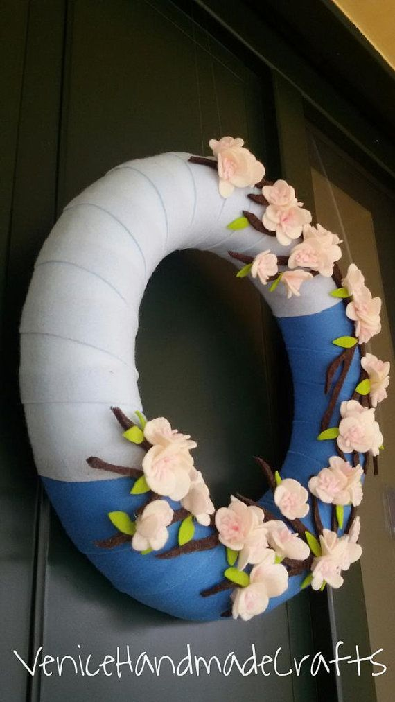 Door wreaths... di Maria su Etsy