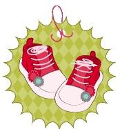 ¿Qué te parecen estas etiquetas que hemos elegido para tus invitaciones, tarjetas e identificaciones de tus Baby Shower? Gratis en www.mamaeva.net